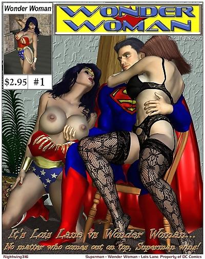 Lois Lane VS. Wonder Woman