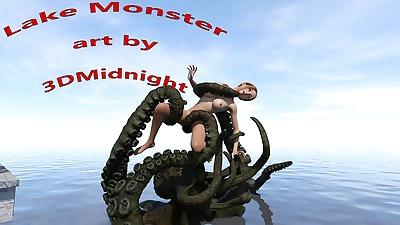 3DMidnight- Lake Monster