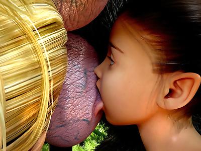 badonion - Arina và chau