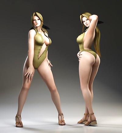 Artist3D - x2gon - DOA Girls