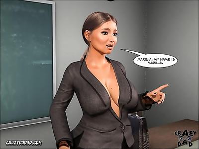 CrazyDad3D- Spank 2- Teacher..