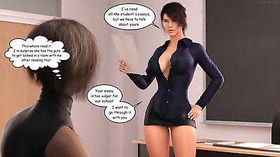 Crazysky3d- Monica A Teacher..