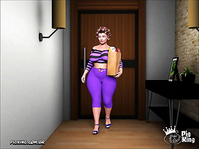 Pigking- Gammer 15- Old Woman