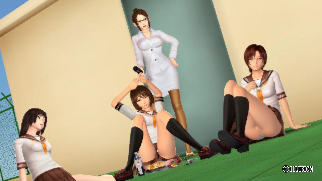Immoral Girls School