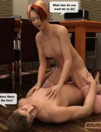 Raunchy School - New teacher works hard to impress a horny principal - part 2