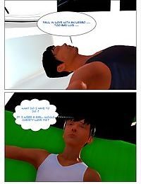 Body Transfer Side Story - A Week-end with Chris - part 14