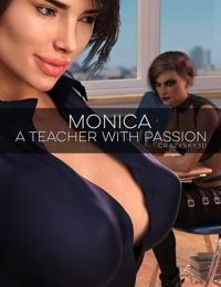 crazysky3d Monica Un enseignant Avec passion